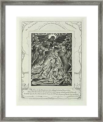 The Fire Of God Framed Print by British Library
