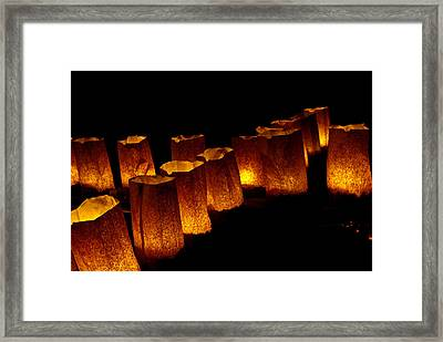 The Fire Within Framed Print by Don Durante Jr