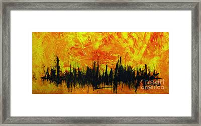 The Fire Within Framed Print by Raul Morales