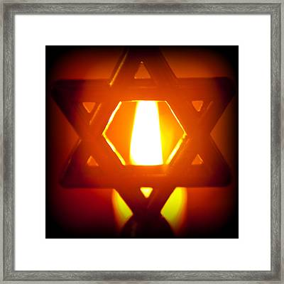 The Fire Within Framed Print