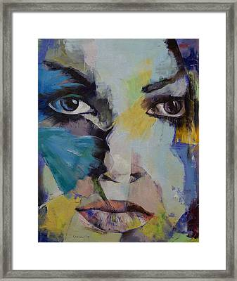 The Firebird Framed Print by Michael Creese
