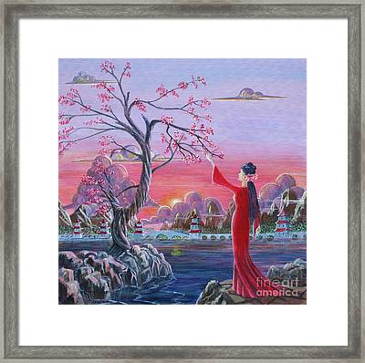 The First Blossoms Of Spring Framed Print