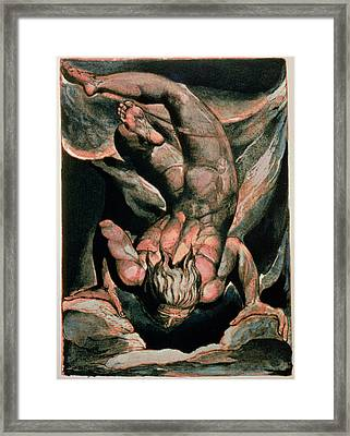 The First Book Of Urizen Framed Print by William Blake