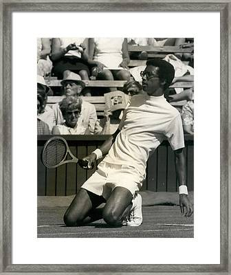 The First Dai Of The Wimbeddon Tennis Tournament Arthur Framed Print by Retro Images Archive