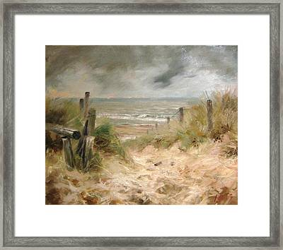 The Answer Is Blowin' In The Wind Framed Print