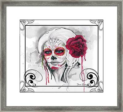 The First Framed Print by Diana Shively