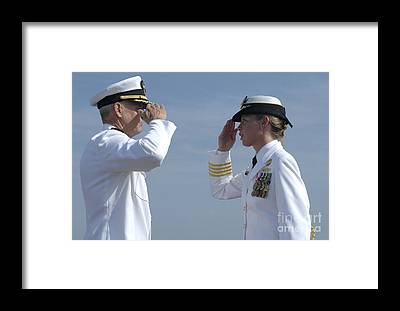 Norfolk Naval Station Framed Prints
