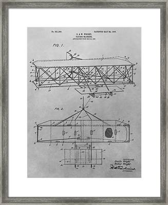 The First Flying Machine Framed Print