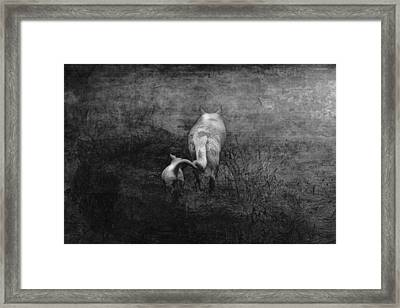The First Hunt Framed Print by Ron Jones