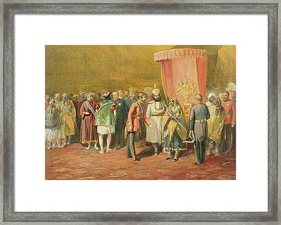 The First Investiture Of The Star Framed Print