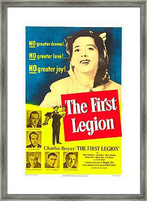 The First Legion, Us Poster, Barbara Framed Print by Everett