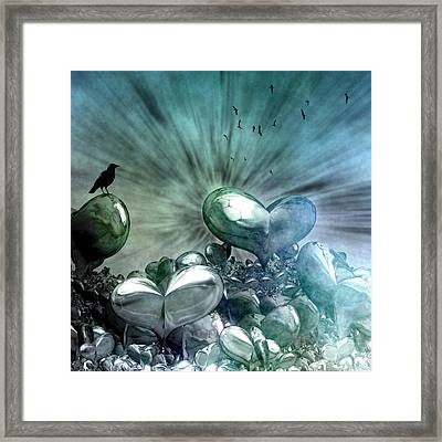 Lost Hearts Framed Print