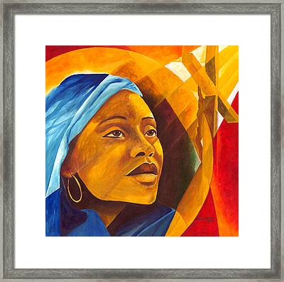 The First Mother Framed Print