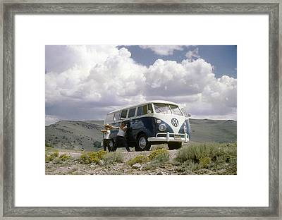 Framed Print featuring the photograph The First Of Many Volkswagens  by David Bailey