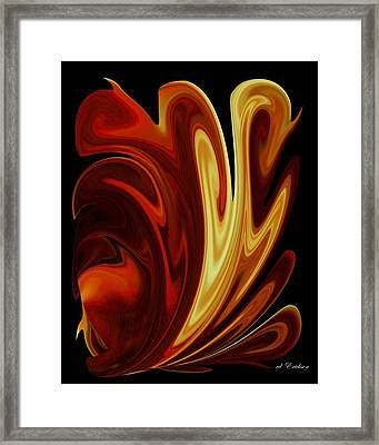 Framed Print featuring the digital art The First by Roy Erickson