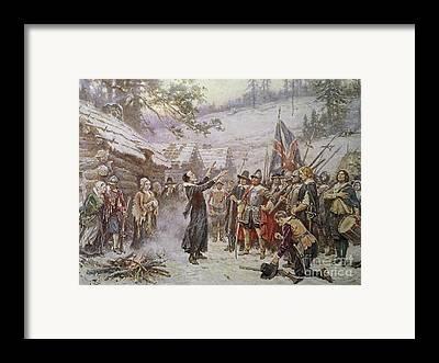 Colonist Framed Prints