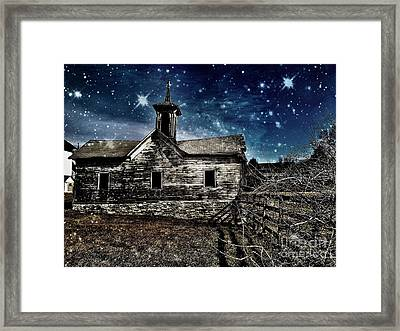 The First Snowfall Framed Print by Kevyn Bashore
