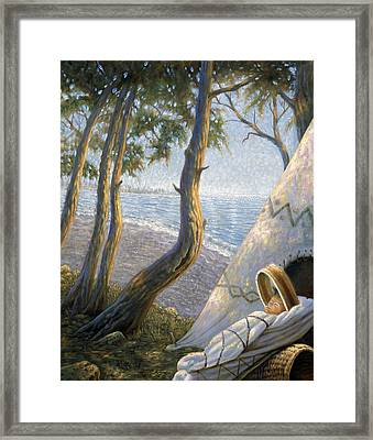 The First Staten Islander Framed Print by Gregory Perillo