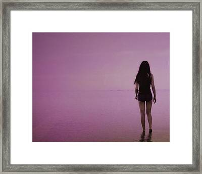 Entering A New Dimension  Framed Print by Dennis Baswell