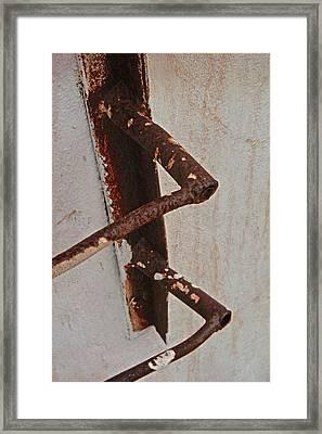 The First Steps Framed Print by Odd Jeppesen