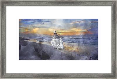 The First Sunrise Framed Print by Betsy Knapp