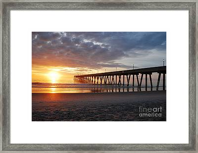 The First Sunrise Framed Print by Bob Sample