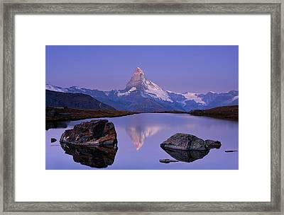 The First Touch Framed Print