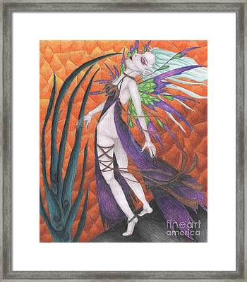 The First Wave Of Unabashed Ecstacy Framed Print by Coriander  Shea