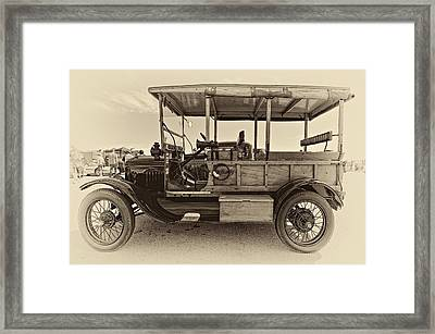 The First Woodie Antique Framed Print by Steve Harrington