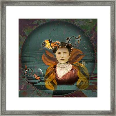 The Fish Keeper Framed Print