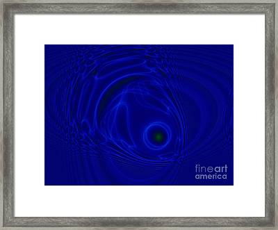 The Fish Framed Print by Peter R Nicholls