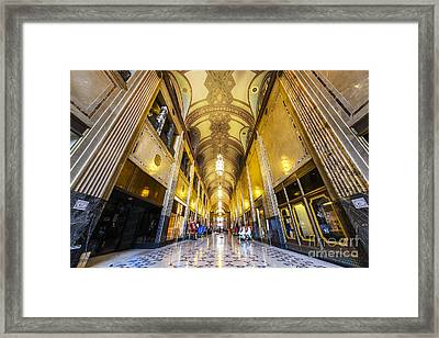 The Fisher Building Framed Print