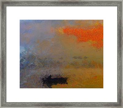 The Fisherman Framed Print by Dan Sproul