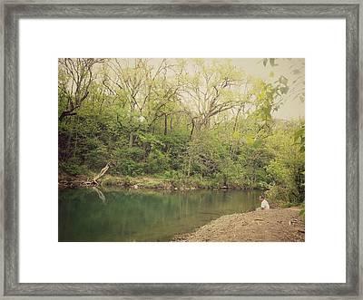 The Fisherman  Framed Print by Kiara Reynolds