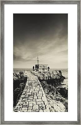 The Fishermen's Hut Framed Print