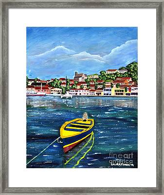 The Fishing Boat  Framed Print