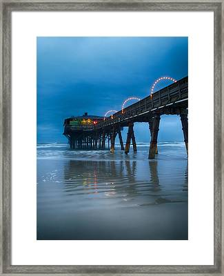 The Fishing's Fine Framed Print