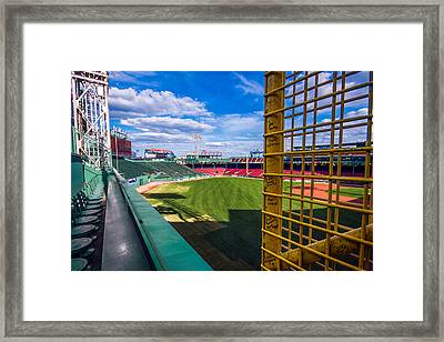 The Fisk Pole Framed Print by Tom Gort
