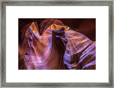 The Fist Framed Print by Pierre Leclerc Photography