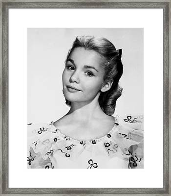 The Five Pennies, Tuesday Weld, 1959 Framed Print by Everett