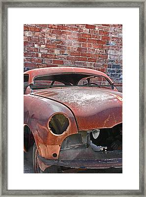The Fixer Upper Framed Print by Lynn Sprowl