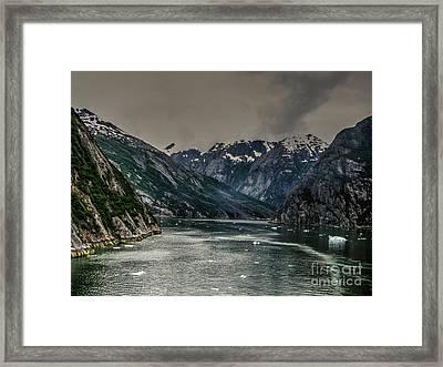 The Fjord Framed Print