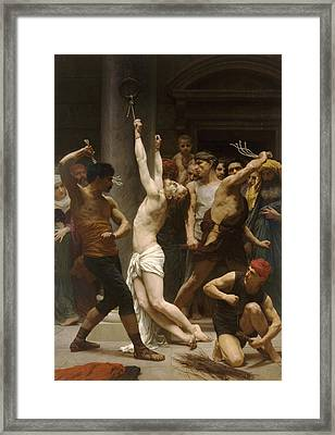 The Flagellation Of Our Lord Jesus Christ Framed Print