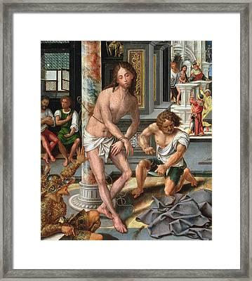 The Flagellation Framed Print