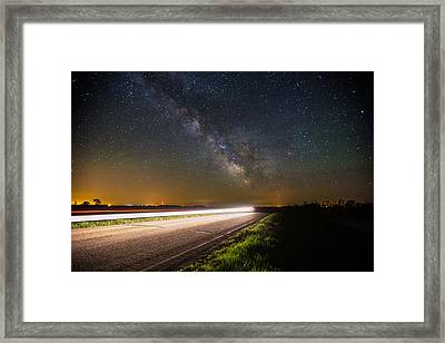 The Flash Framed Print by Aaron J Groen
