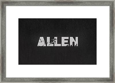 The Flash - Barry Allen Framed Print by Alyn Spiller