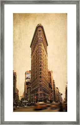 The Flatiron Building Framed Print by Jessica Jenney