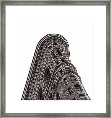 The Flatiron Framed Print