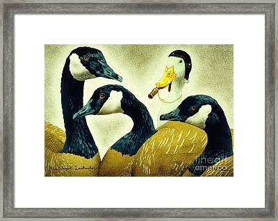 The Flight Instructor ... Framed Print
