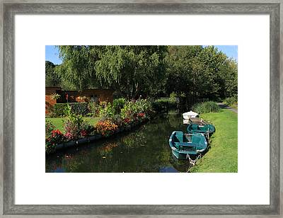 The Floating Gardens Framed Print by Aidan Moran